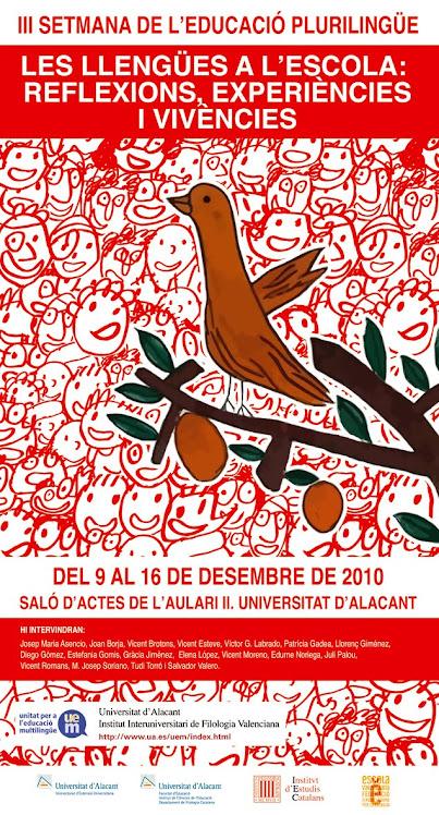 PRESENTACIÓ DEL PAÍS DELS CONTES  A LA UNIVERSITAT D'ALACANT