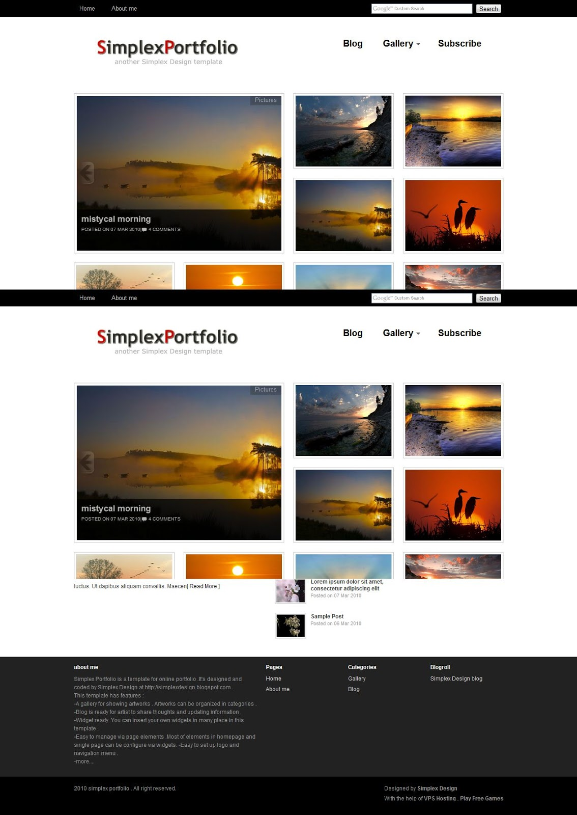 10 blogger template gallery terbaik dan gratis mas irawann for Blogger templates free download 2012