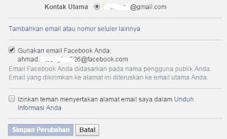 email facebook sobat