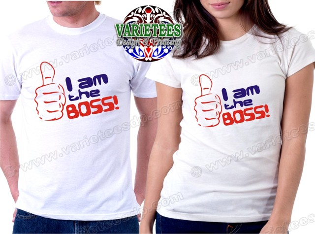 I am the Boss Statement Shirts