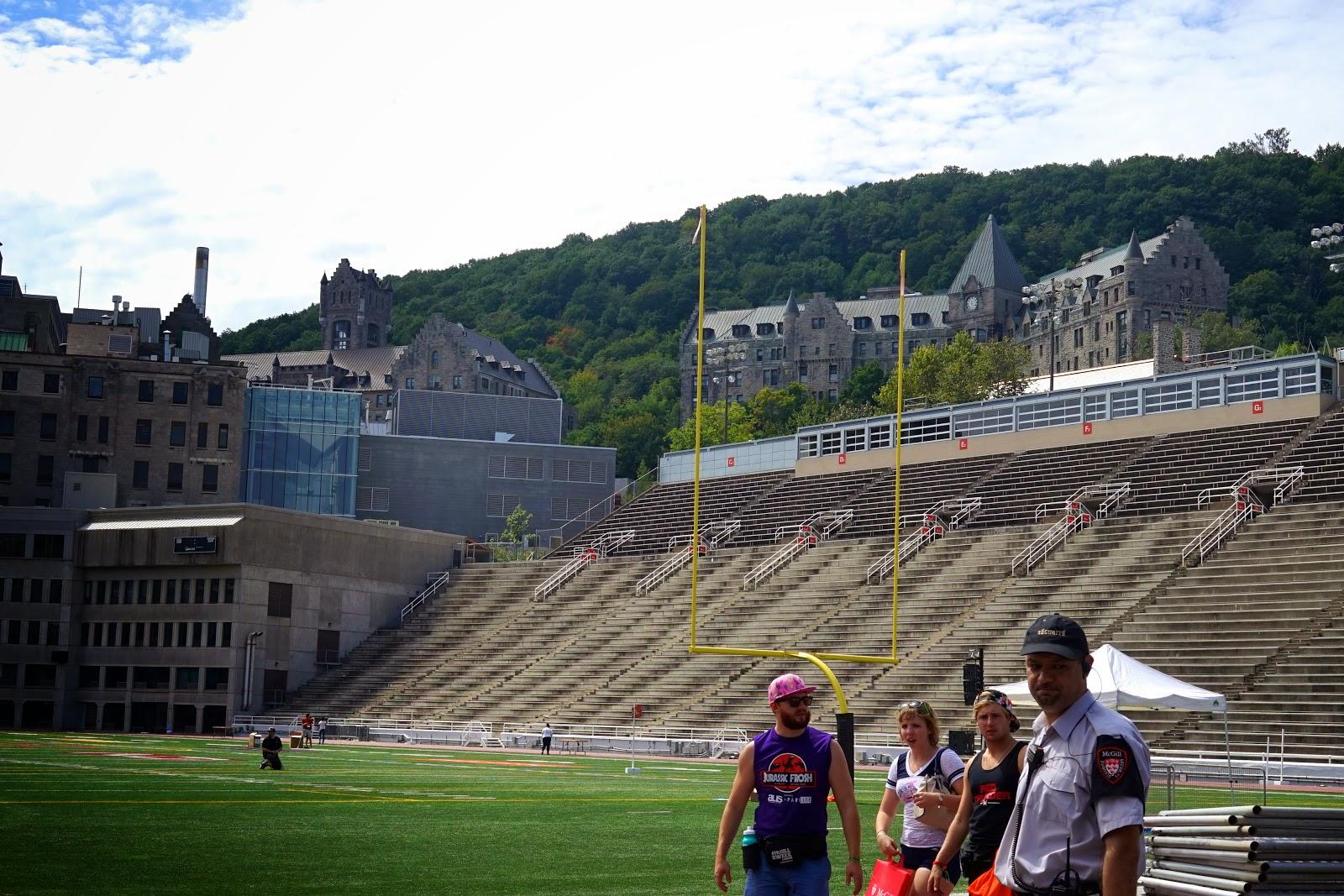 mcgill sports stadium
