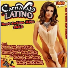capa CD - CD Carnaval Latino Best Latino Hits 2012