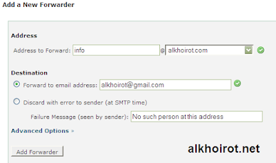 email forwarder top domain