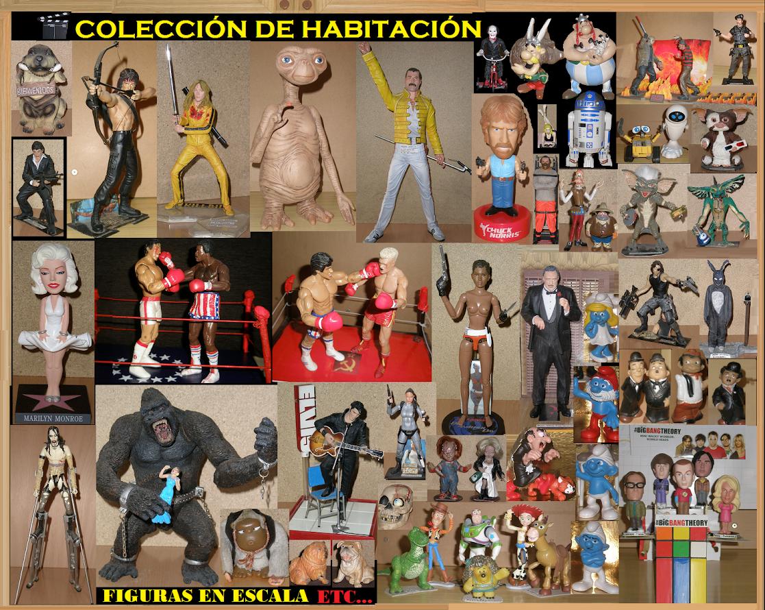 Colección de Habitación                Figuras en Escala etc....