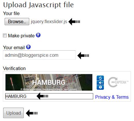 js file upload