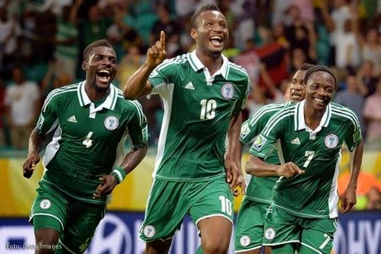 Ver partido Nigeria Mundial Brasil 2014 en vivo gratis online. Páginas web fútbol en directo sin cortes World Cup.