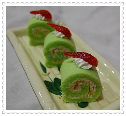mini pandan keju gulung ante wanti s cake
