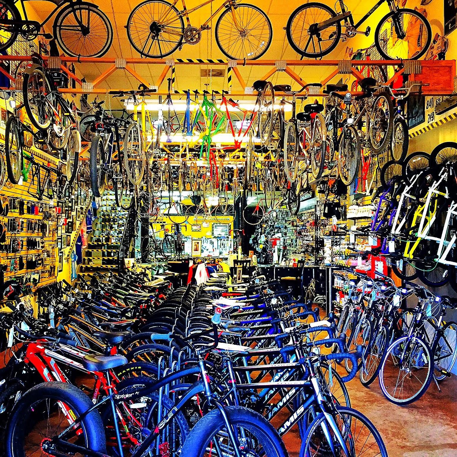 Road, MTB, TRI, BMX, Comfort Bikes