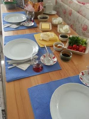 evde kahvaltı