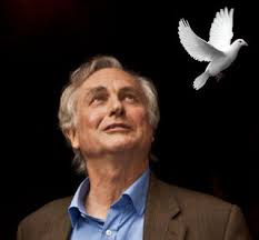 Dawkins with dove