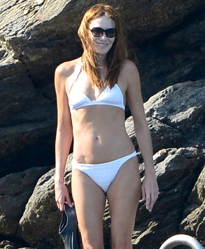 Bruni white bikini