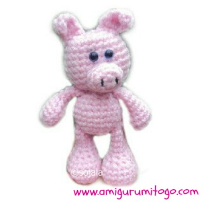 Little Bigfoot Pig Free Crochet Pattern ~ Amigurumi To Go