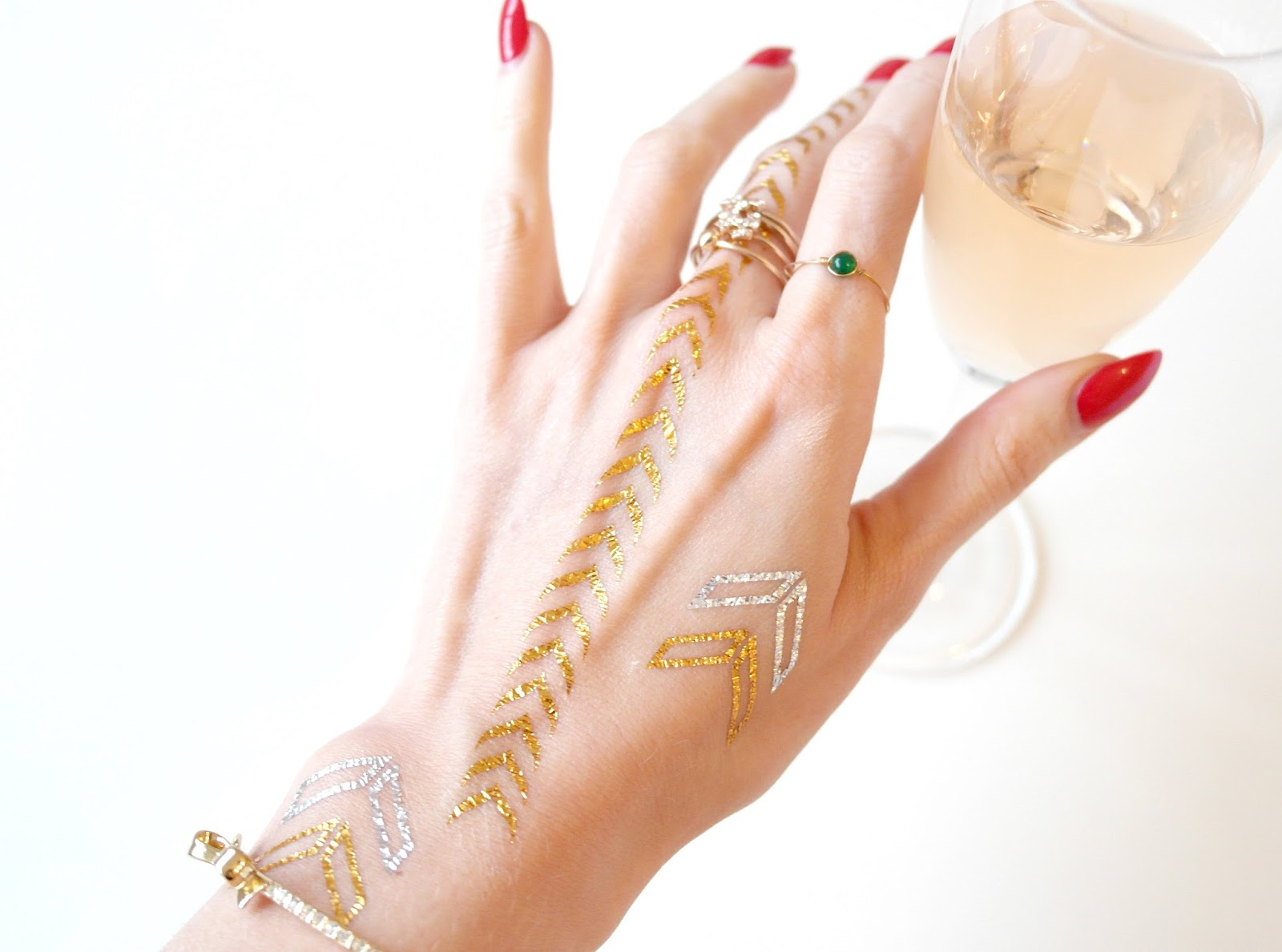 unique freak temporary tattoos, metallic tattoos review