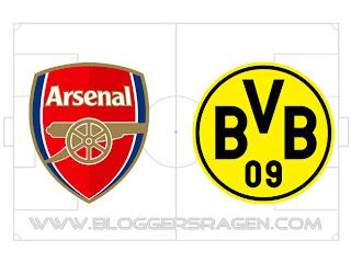 Prediksi Pertandingan Borussia Dortmund vs Arsenal