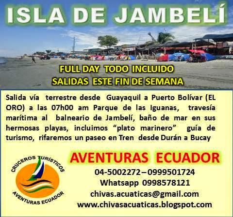 ¡¡¡ CONOZCA LA ISLA DE JAMBELI !!!