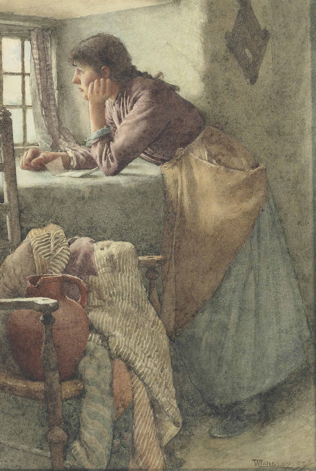 Walter Langley A Reverie