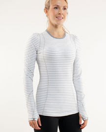 lululemon back on track long sleeve top