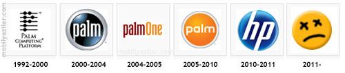 Palm logoları, HP ve Palm'ın sonu!