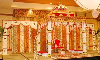 Indian Wedding And Hindu Ceremony Mandap Decorations