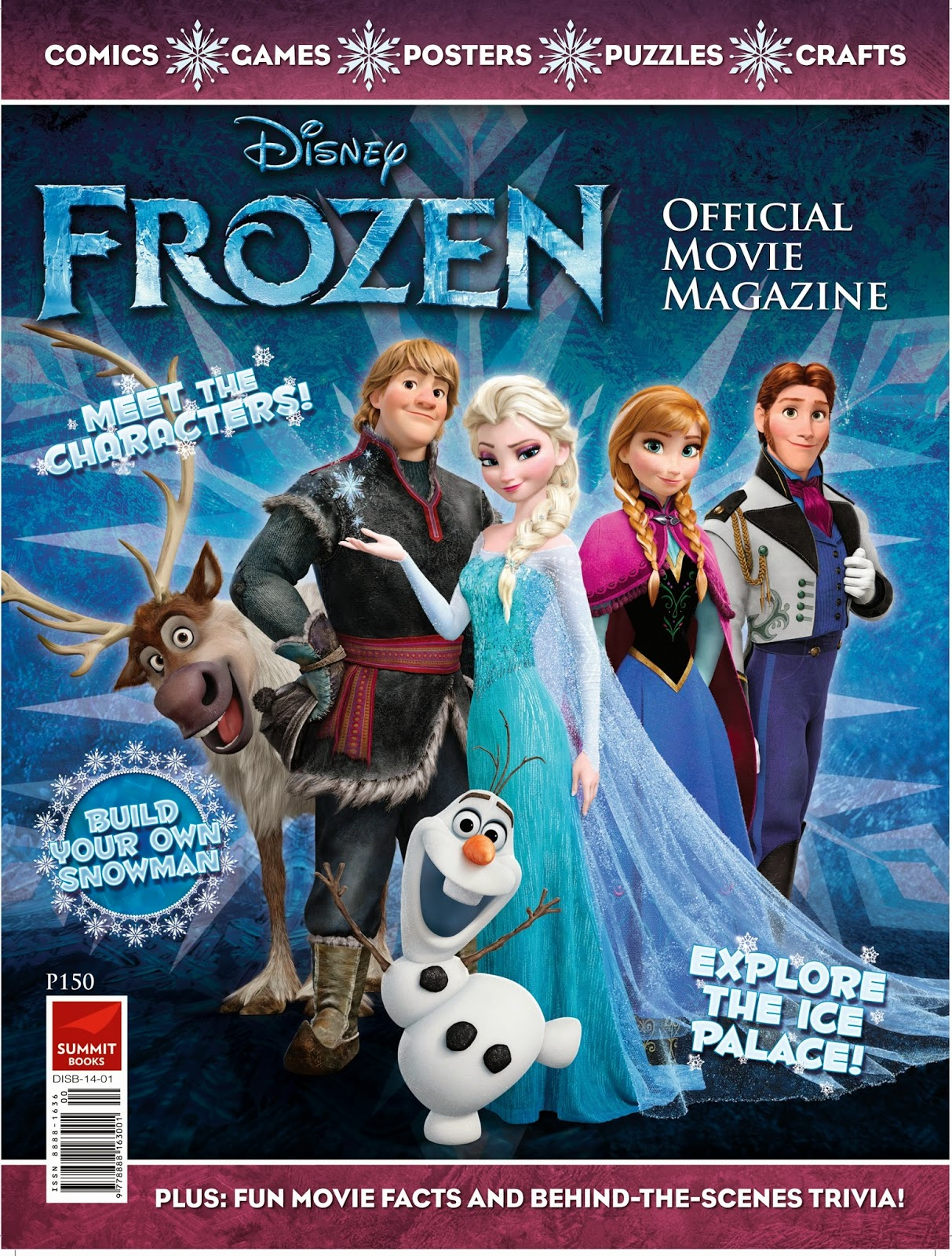 Disney s frozen official movie magazine is now in the philippines