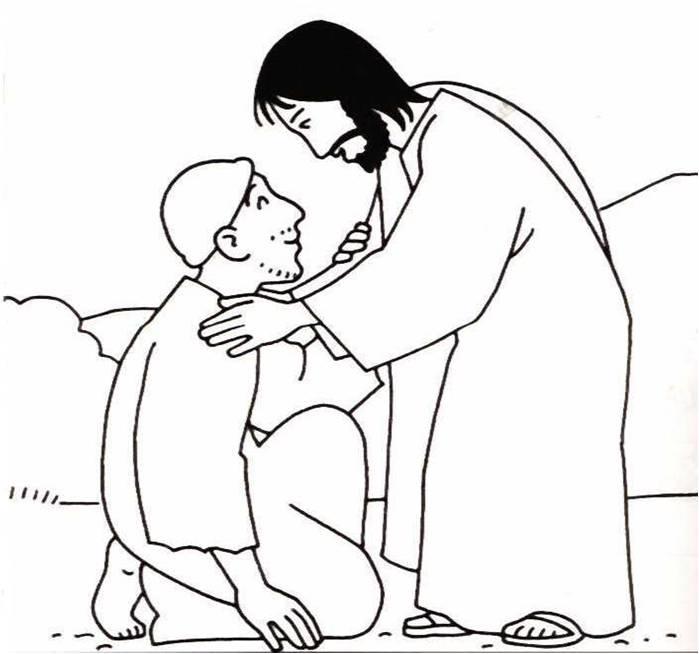 Mi blog: Jesús cura a un enfermo