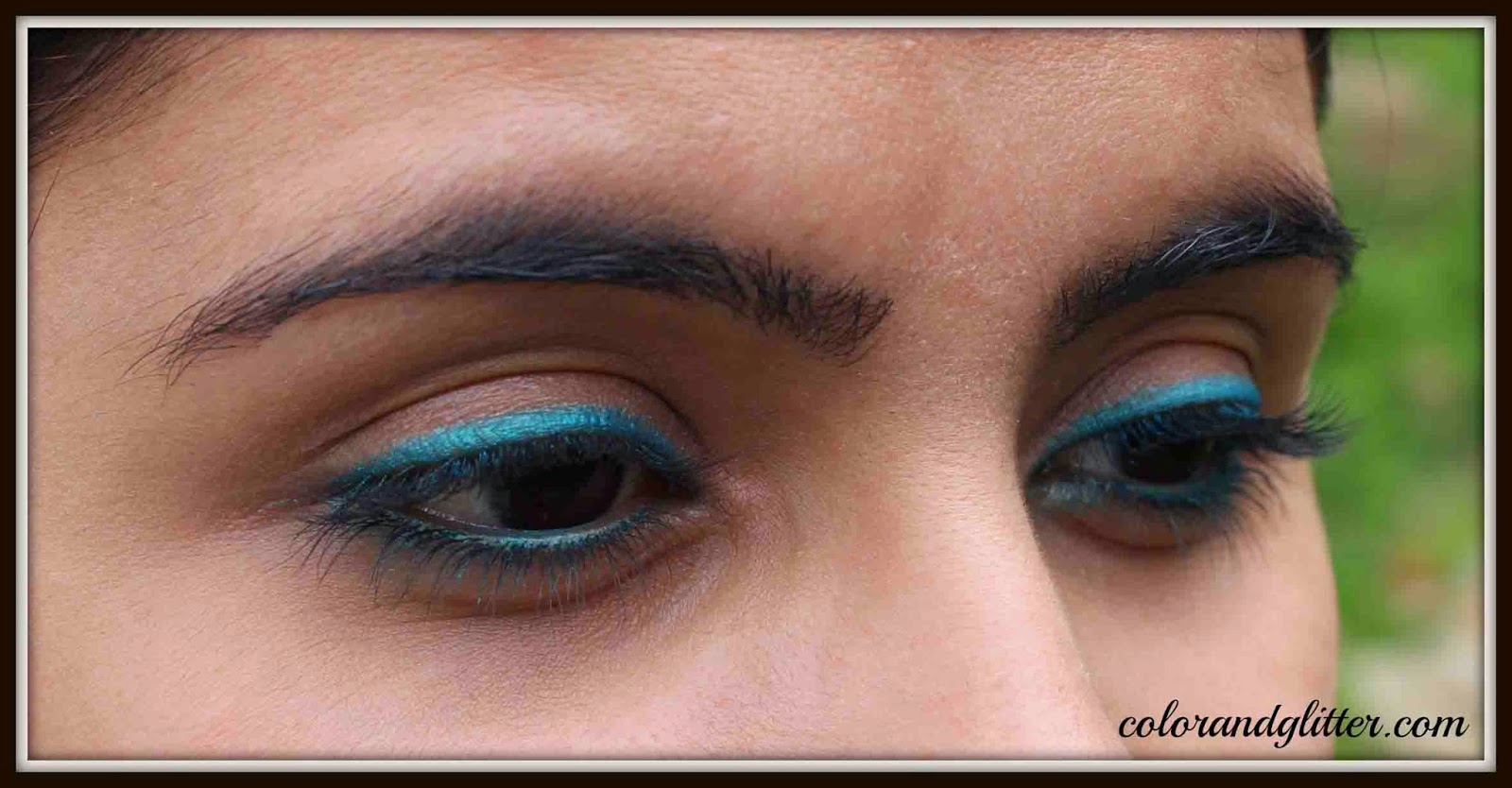 Maybelline The Colossal Kohl - Turquoise || Review and Swatches
