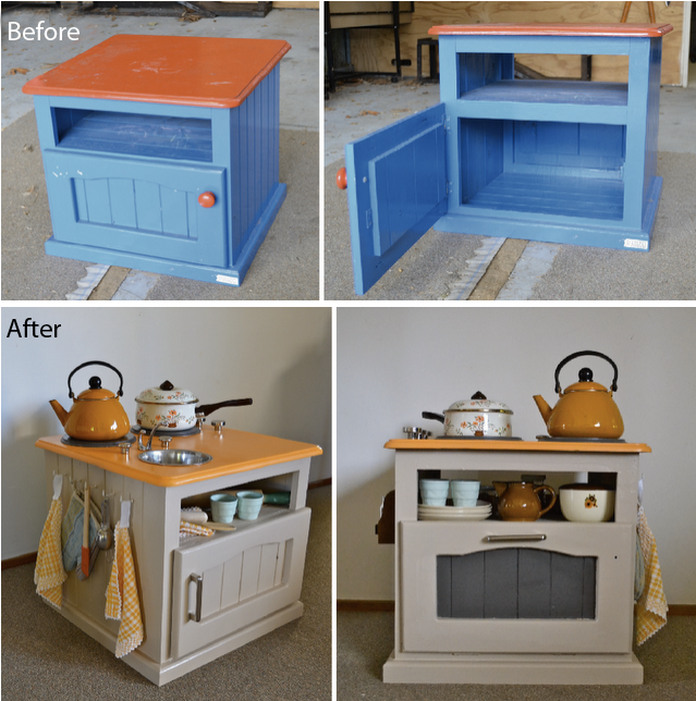 Tv Cabinet Made Into Play Kitchen: The Design Affair: Upcycled, Repurposed And Remarkable
