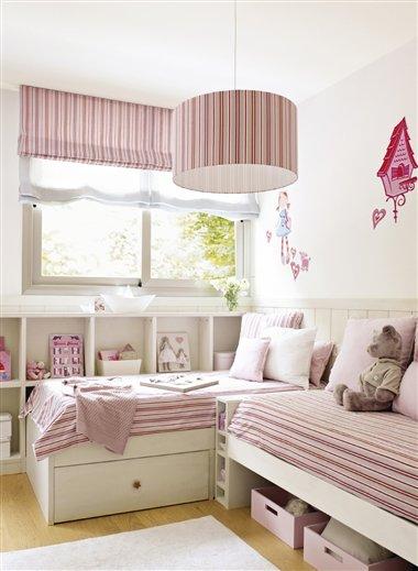 Id ias m veis planejados em quartos infantis jeito de - Habitaciones infantiles con dos camas ...