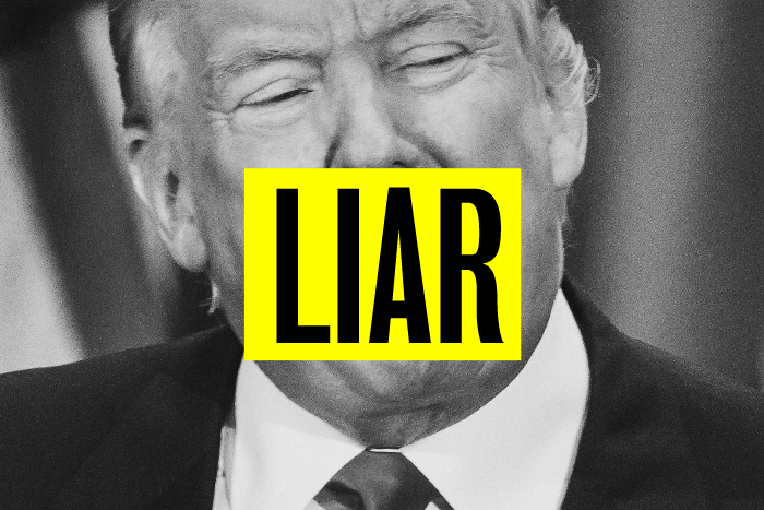 donald trump most recent blatant lies