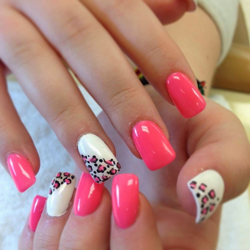 cute acrylic nail designs - photo #39