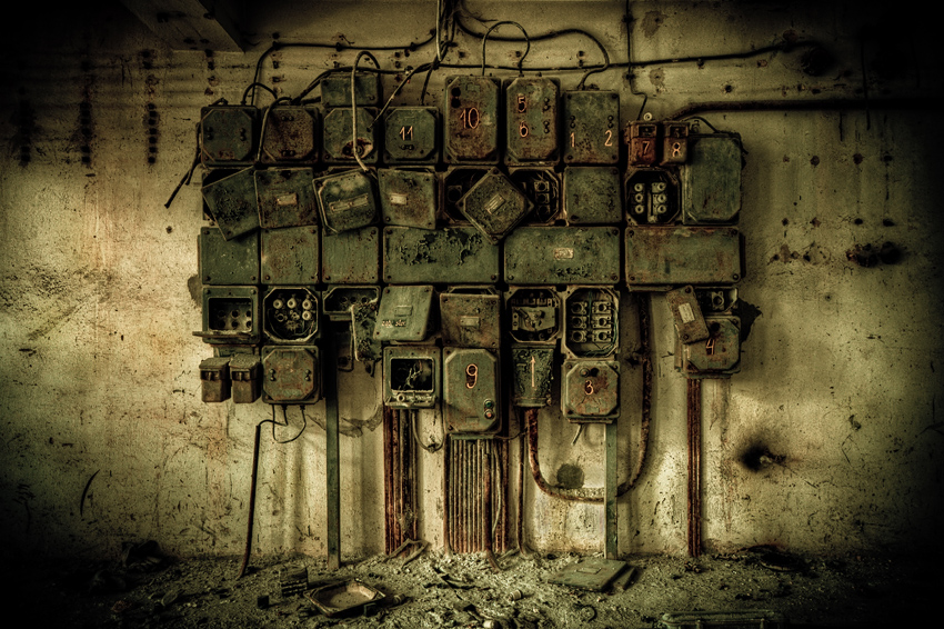 Doctor Ojiplático. Slawomir Kmiecik. Camereon. Abandoned Zone. Fotografía | Photography