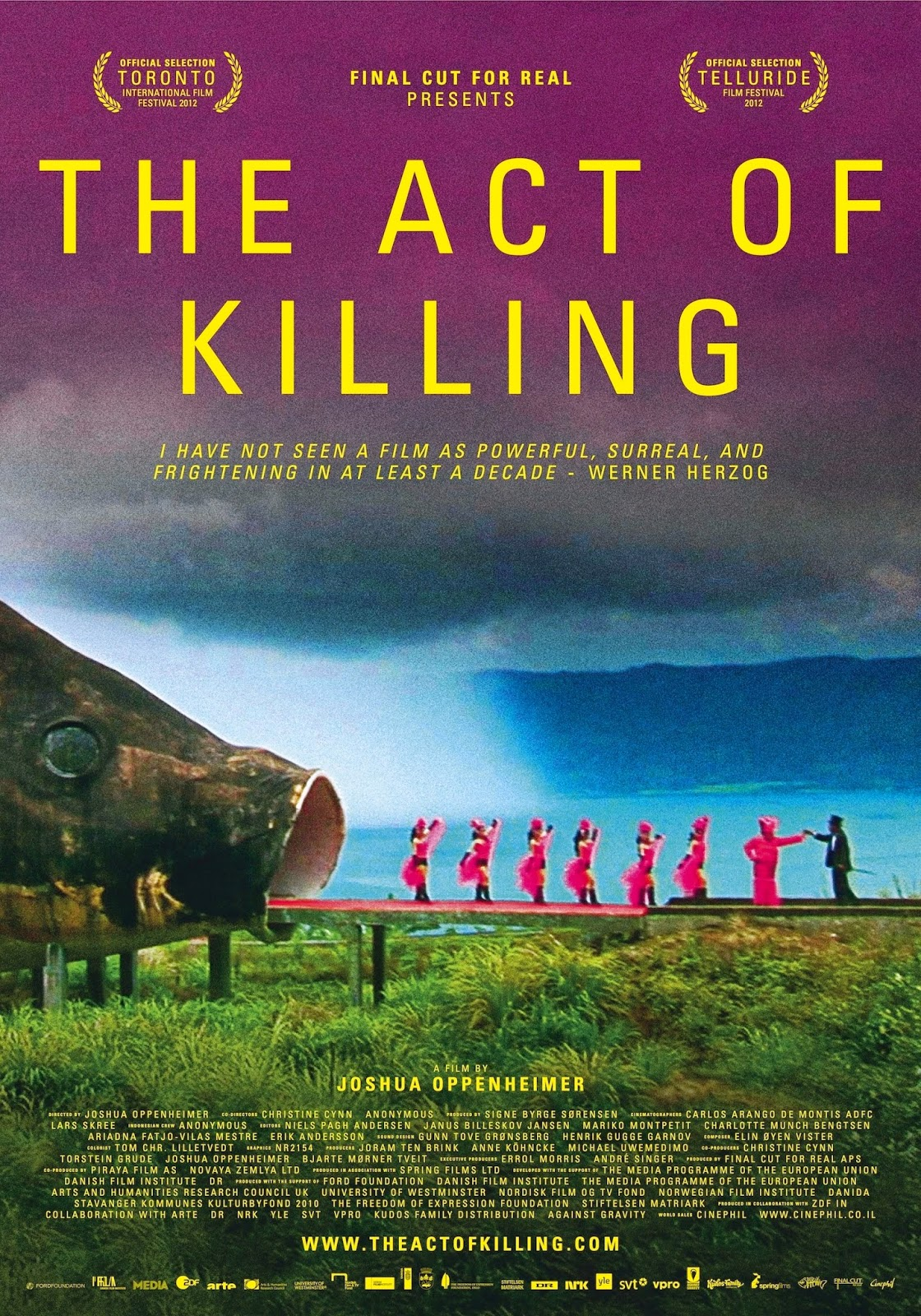 Comentario sobre el documental The Act of Killing