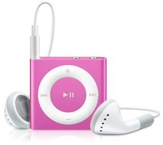 Ipod Shuffle 2Gb Rosa