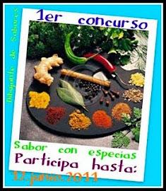CONCURSO SABOR CON ESPECIAS