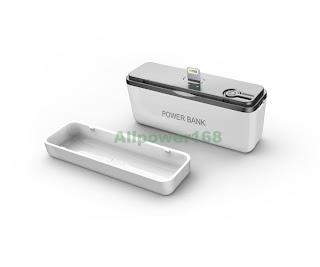 2600mAh Portable External Battery Charger Power Bank for iPhone 5/iPad Mini