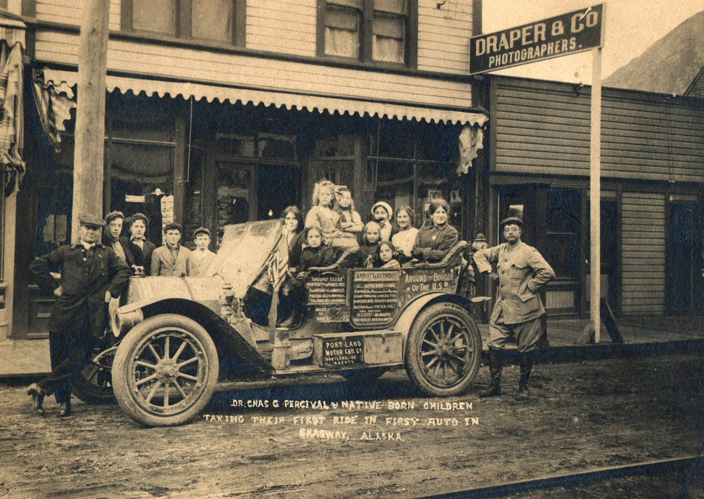 The First Automobiles in Alaska | The Antique Car