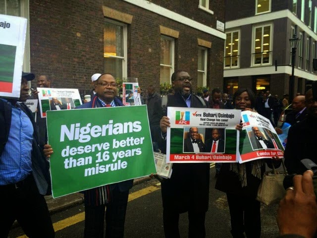 buhari supporters chatham house london