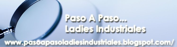 PASO A PASO LADIES INDUSTRIALES