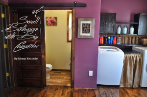 Country Fair Blog Party: Small Bathroom Remodel