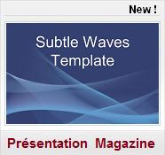 theme bleu abstract Modeles de présentation PPT Gratuits