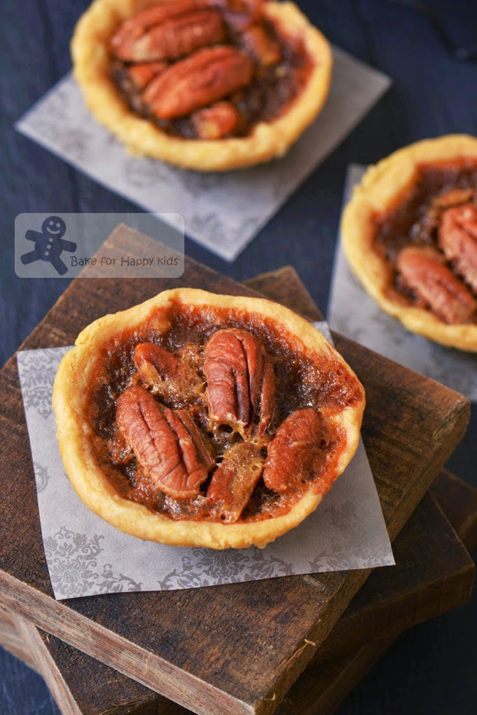 Bake for Happy Kids: Miniature Maple Pecan Tarts (Williams-Sonoma)