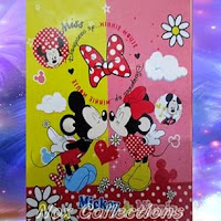 Grosir Selimut Rosanna Soft Panel Blanket Miss Mickey Minnie