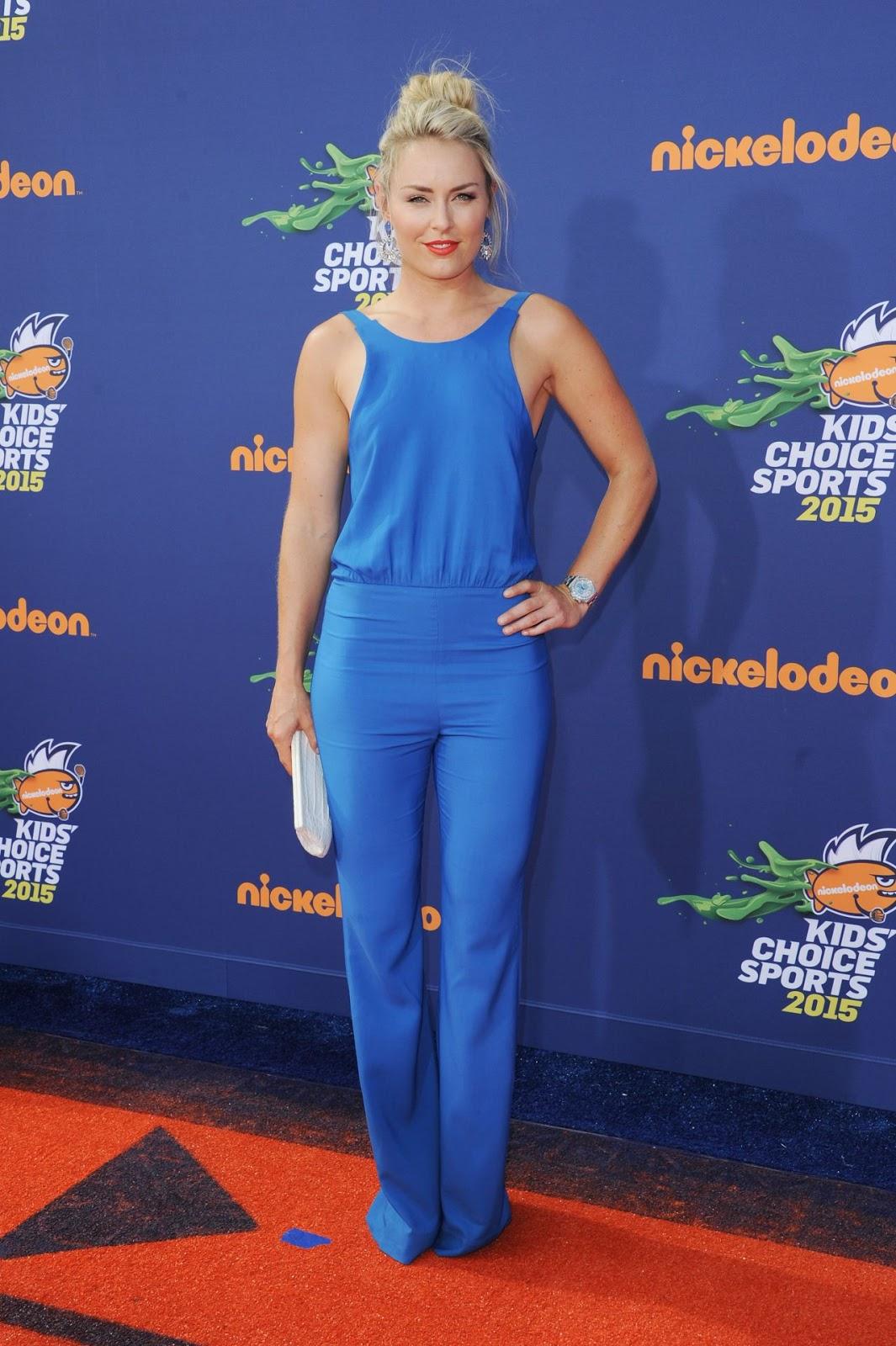 Lindsey Vonn – 2015 Nickelodeon Kids' Choice Sports Awards