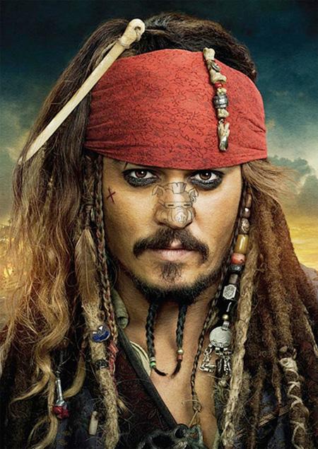 Jack sparrow - Johnny Depp
