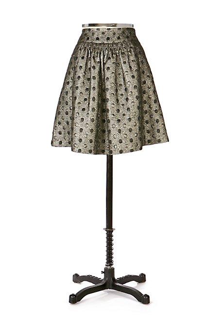 Anthropologie Bullion Dot Skirt