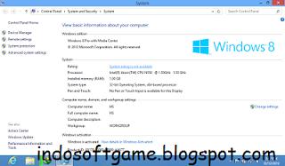Download Windows 8 Final Professional 32 Bit dan 64 Bit Full Version With Keygen + Serial