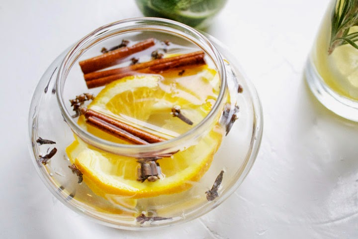 Orange, Cloves, Cinnamon