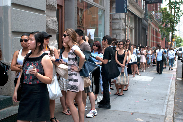 830am to 6pm daily 306 w 38th st bet 8th 9th ave impt info usually the early days of the sample sale