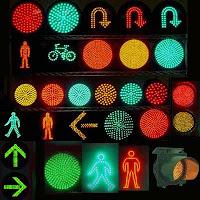señales de traficos de led