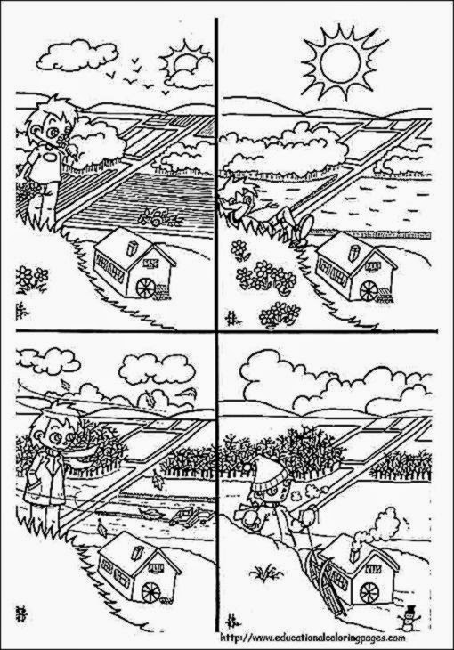 Weather coloring sheets free coloring sheet for Weather coloring pages